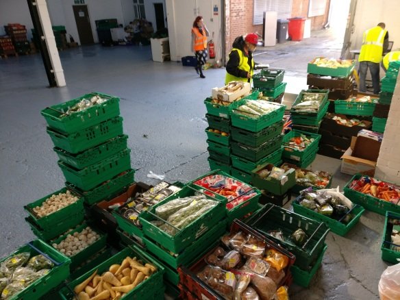 A day of intercepted food at The Real JunkFood Project Sheffield