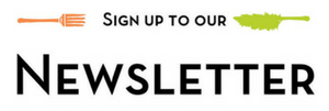 "Graphic saying ""sign up to our newsletter"" - links to The Real Junk Food Project Sheffield's newsletter sign up"