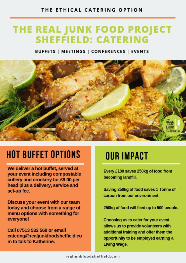 Hot Buffet Menu 2018